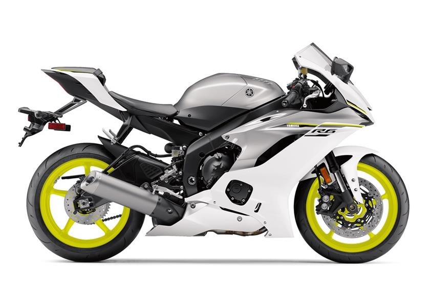 2017 Yamaha R6