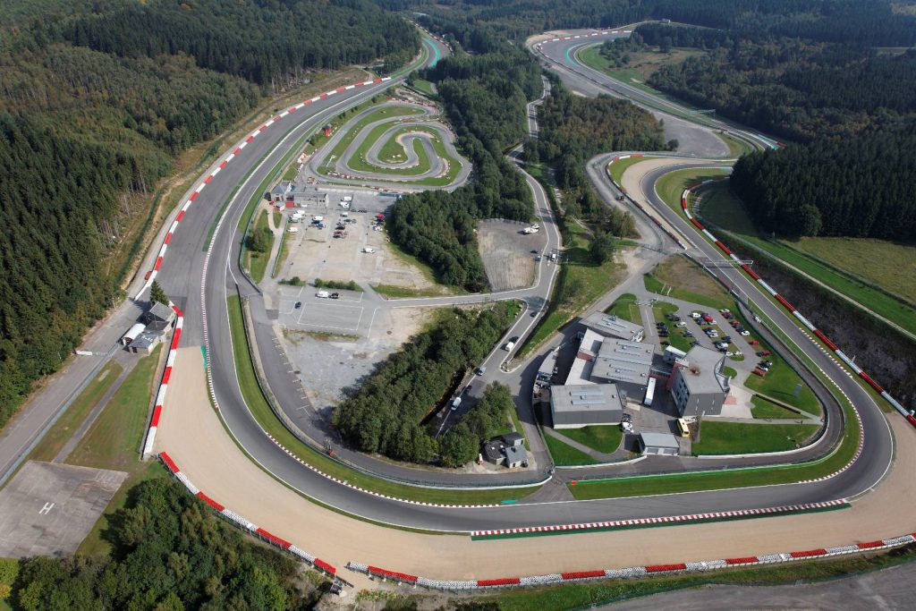 Aerial view of Spa (turn 16) credit: www.spa-francorchamps.be/