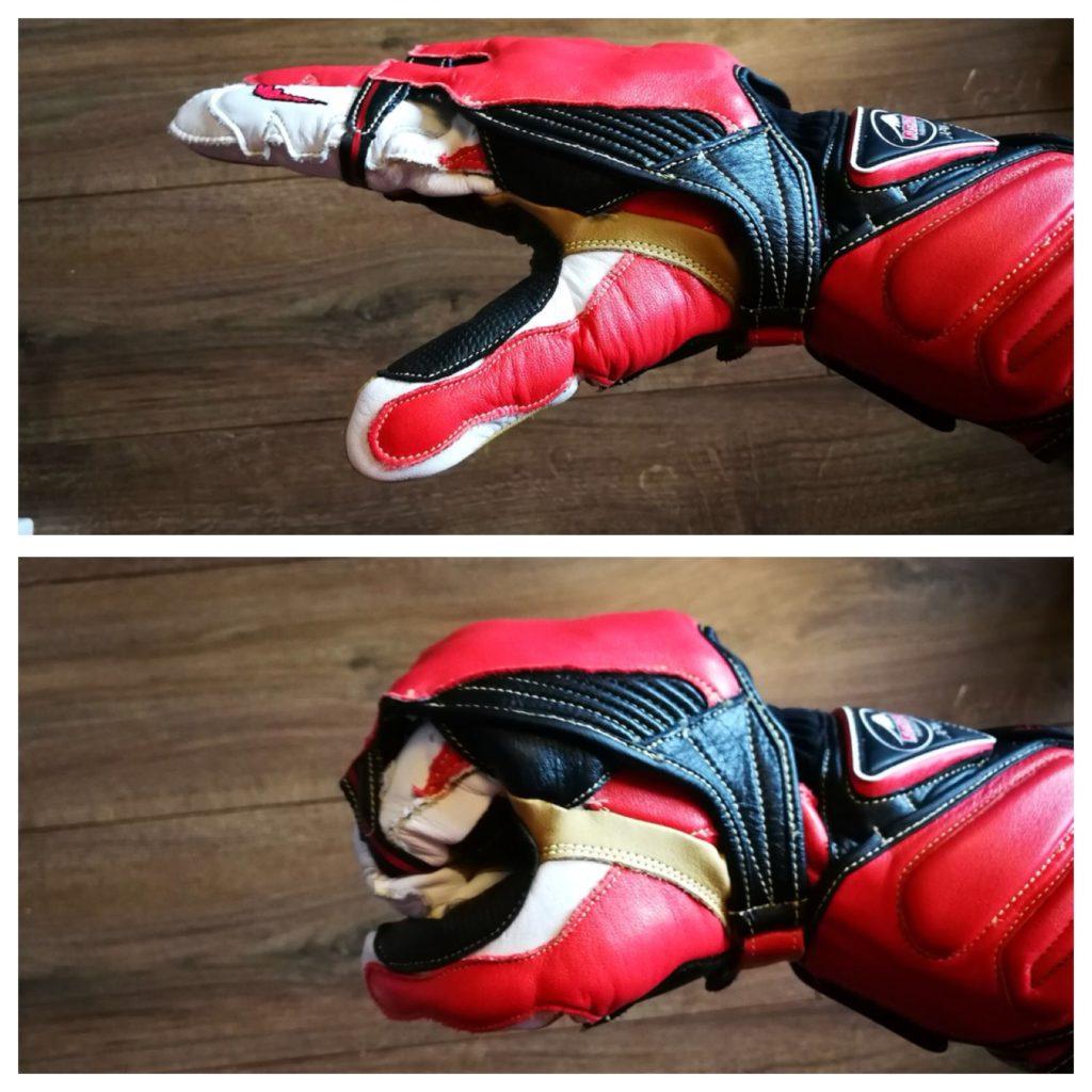 kushitani gpr-6 glove protection