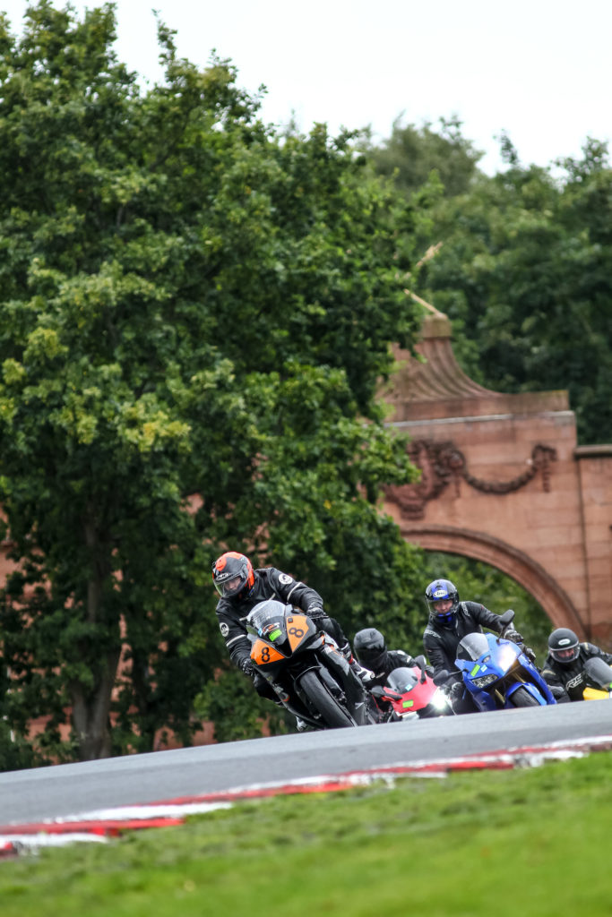 deer leap oulton park first trackday