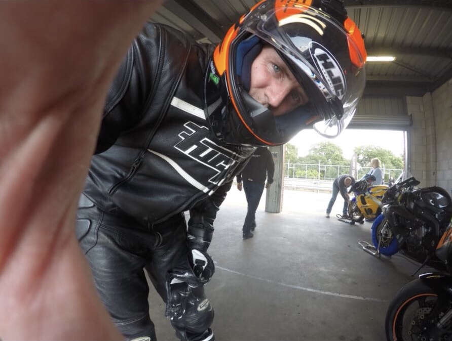 first trackday gopro